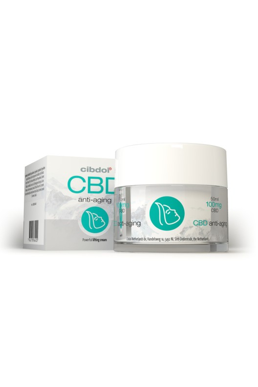 Cibdol CBD anti aging cream