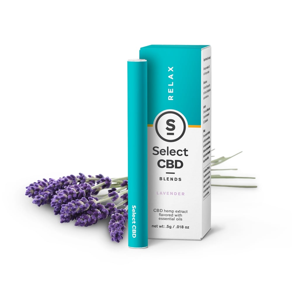Select CBD Vape Pen with Lavender Flavour