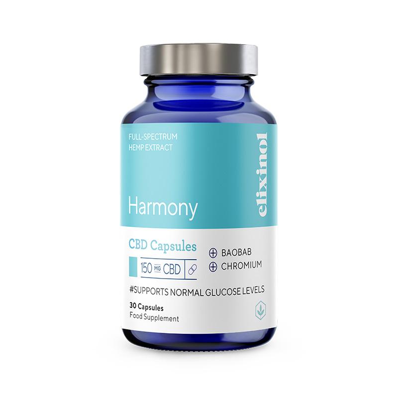 Harmony CBD Capsules