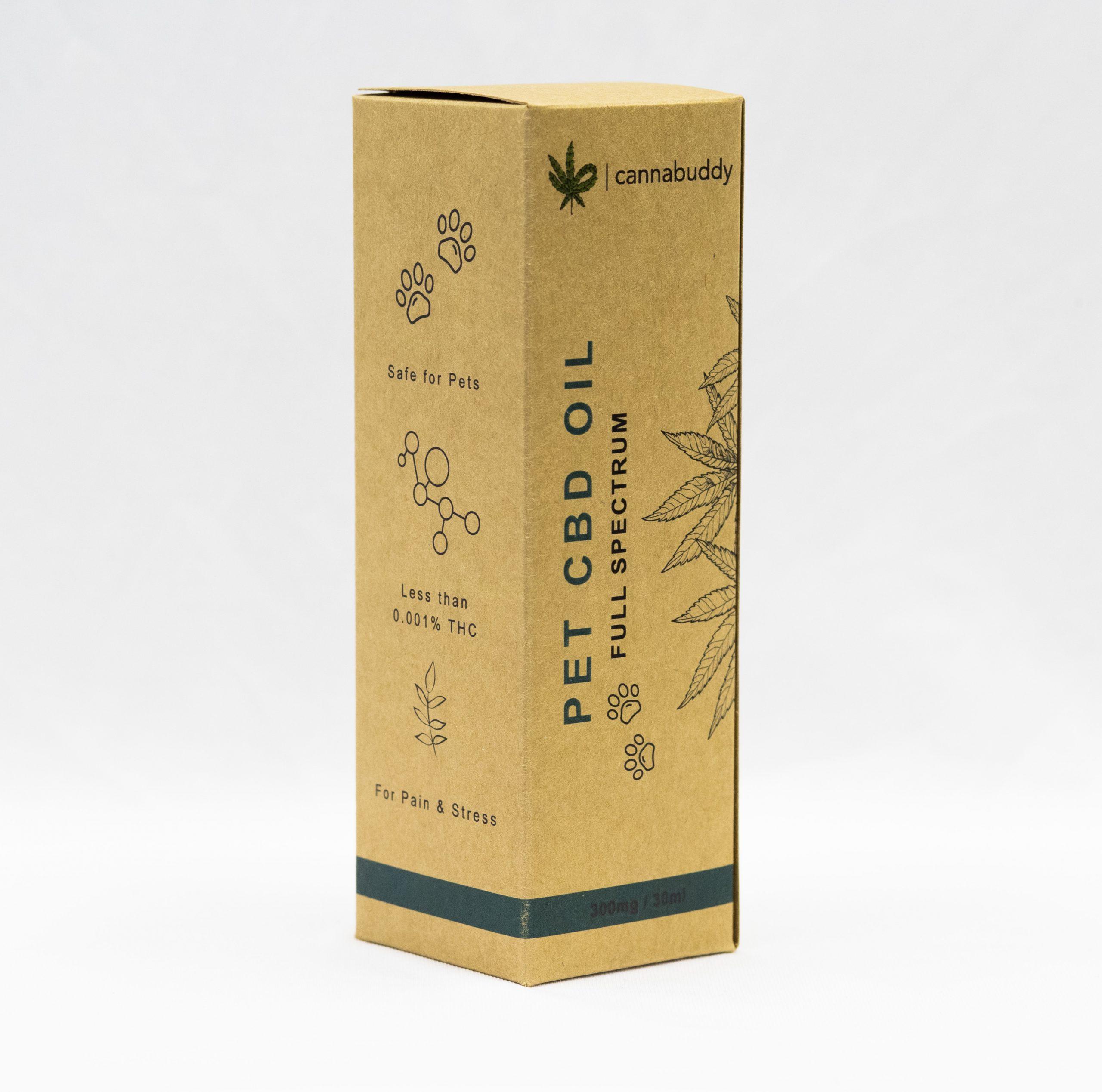 Cannabuddy CBD Pet Packaging