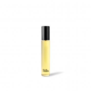 A small vial for Herb Essentials cannabis perfume