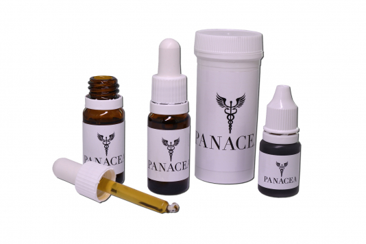 a group of products from Panacea