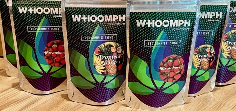 Whoomph CBD Gummies packaging